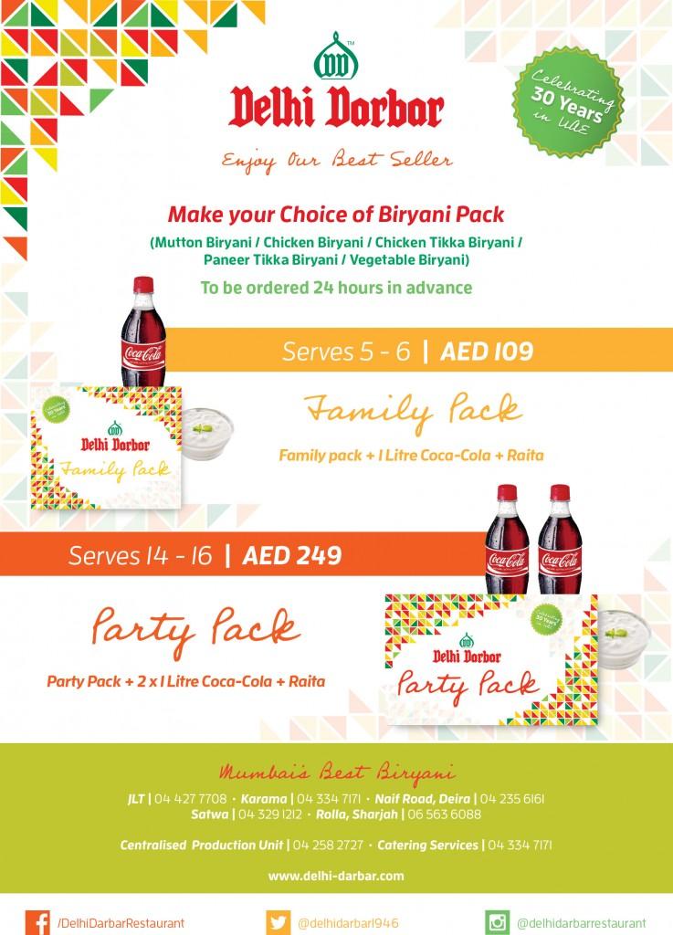 Delhi Darbar Biryani Pack Flyer_A5